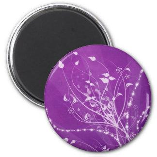 Purple Spring Magnets