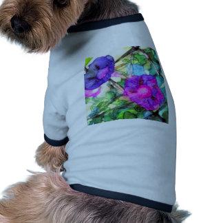 Purple Springtime Flowers CricketDiane Pet Shirt