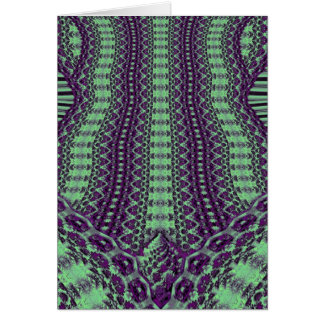 Purple Sprouting Greeting Card