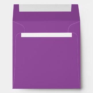 Purple Square Envelopes
