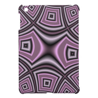 Purple Square Pattern Case For The iPad Mini
