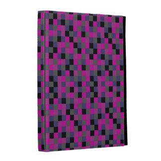Purple Squares iPad Folio iPad Cases