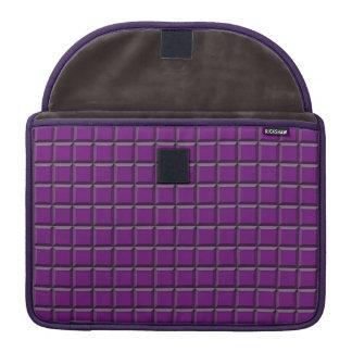 "Purple Squares MacBrook Pro 13""  Sleeve"