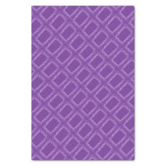 """Purple Squares Tissue Paper 10"""" X 15"""" Tissue Paper"""