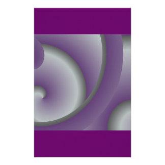Purple Squid Stationery