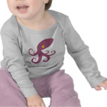 Purple Squid T Shirt