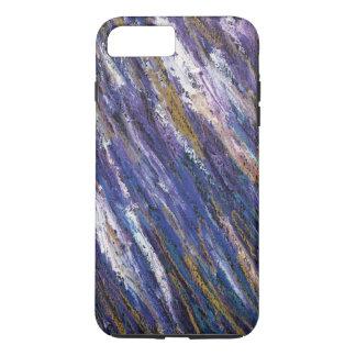 Purple Squiggle iPhone 7 Case