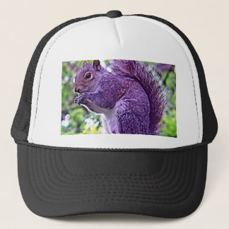 Purple Squirrel Trucker Hat