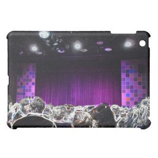 Purple stage solarized theater design case for the iPad mini