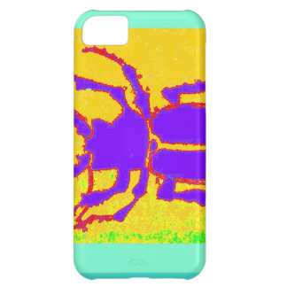 Purple Staghorn Beetle by Sharles iPhone 5C Case