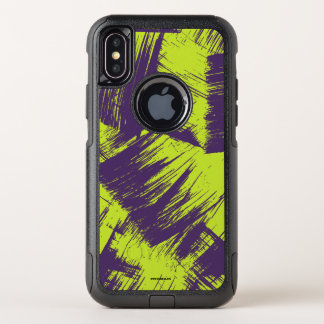 Purple Stains OtterBox Commuter iPhone X Case