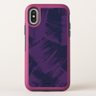 Purple Stains OtterBox Symmetry iPhone X Case