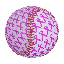 Purple Standard Ribbon Baseball