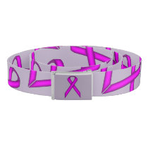 Purple Standard Ribbon Belt