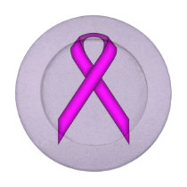 Purple Standard Ribbon Button Covers