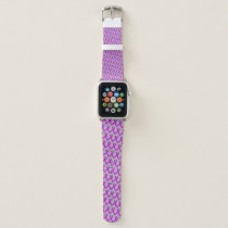 Purple Standard Ribbon by Kenneth Yoncich Apple Watch Band