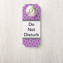 Purple Standard Ribbon by Kenneth Yoncich Door Hanger