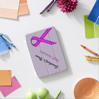 Purple Standard Ribbon by Kenneth Yoncich iPad Mini Cover