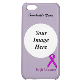 Purple Standard Ribbon by Kenneth Yoncich iPhone 5C Cover
