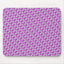Purple Standard Ribbon by Kenneth Yoncich Mouse Pad