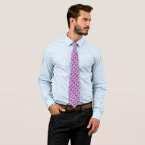 Purple Standard Ribbon by Kenneth Yoncich Neck Tie