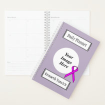 Purple Standard Ribbon by Kenneth Yoncich Planner