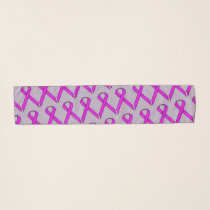 Purple Standard Ribbon by Kenneth Yoncich Scarf