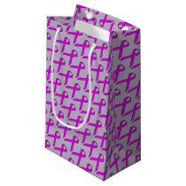 Purple Standard Ribbon by Kenneth Yoncich Small Gift Bag