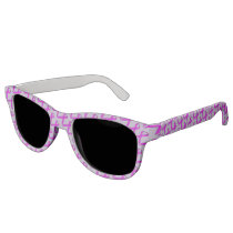 Purple Standard Ribbon by Kenneth Yoncich Sunglasses