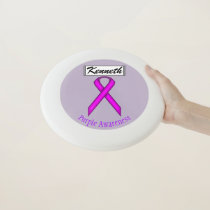 Purple Standard Ribbon by Kenneth Yoncich Wham-O Frisbee