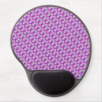 Purple Standard Ribbon Gel Mouse Pad