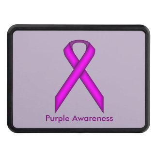 Purple Standard Ribbon Hitch Covers