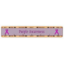Purple Standard Ribbon Key Rack