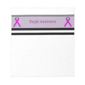Purple Standard Ribbon Notepad