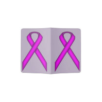 Purple Standard Ribbon Passport Holder