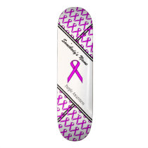 Purple Standard Ribbon Skateboard Deck