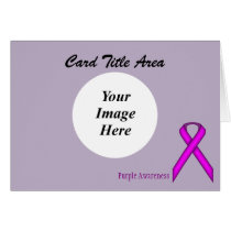 Purple Standard Ribbon Template
