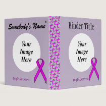 Purple Standard Ribbon Template Binder
