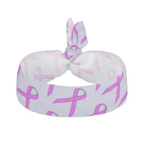 Purple Standard Ribbon Template by Kenneth Yoncich Elastic Hair Tie
