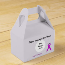 Purple Standard Ribbon Template by Kenneth Yoncich Favor Box