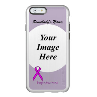 Purple Standard Ribbon Template Incipio Feather Shine iPhone 6 Case