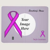 Purple Standard Ribbon Template Journal