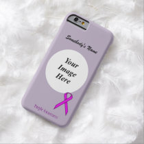 Purple Standard Ribbon Tmpl by Kenneth Yoncich Barely There iPhone 6 Case