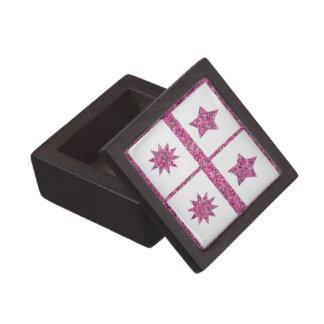 Purple Star - 5point 10point stars Premium Jewelry Boxes
