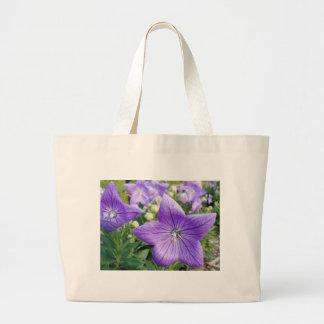Purple Star Canvas Bags