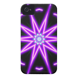 Purple Star BlackBerry Bold Case-Mate Barely There iPhone 4 Cover