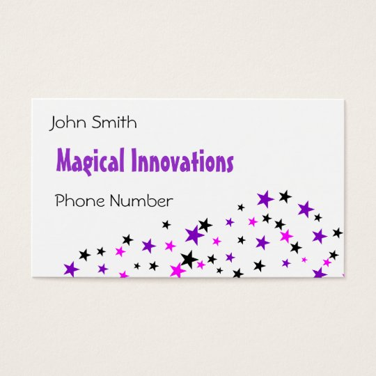 Purple Star Business Card
