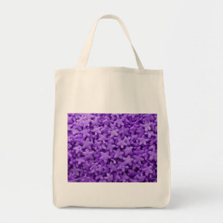Purple Star Cereal Tote Bag