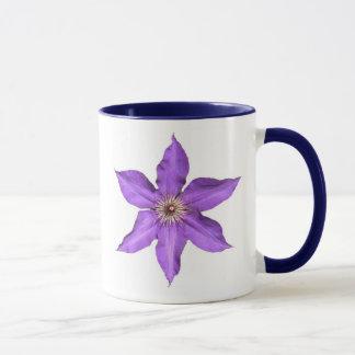 Purple Star Flower Mug