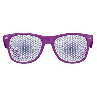 Purple Star Fractal Festive Party Glasses Kids Sunglasses